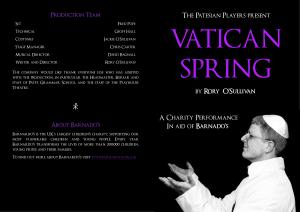 Vatican Spring Programme (1)